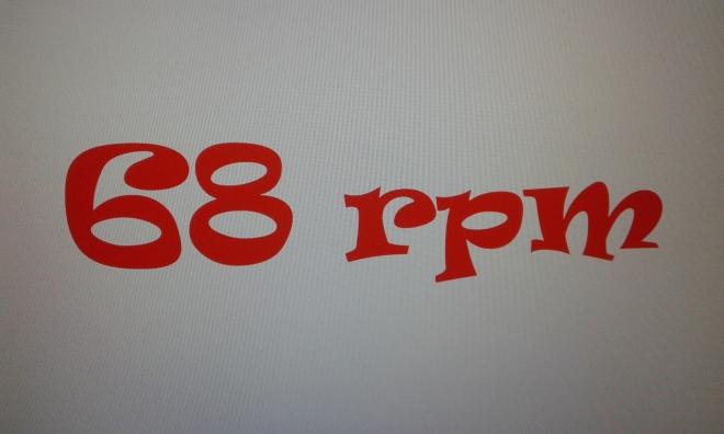 68 RPM 1 (FOTO 1)