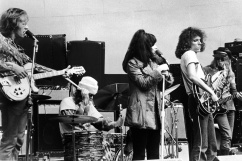 Jefferson Airplane Perform On Stage