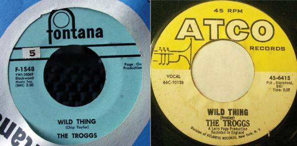 wild thing 45 single fontana atco 2