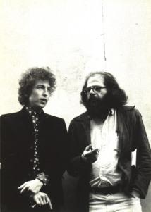 BOB DYLAN & ALLEN GINSBERG (FOTO 1)