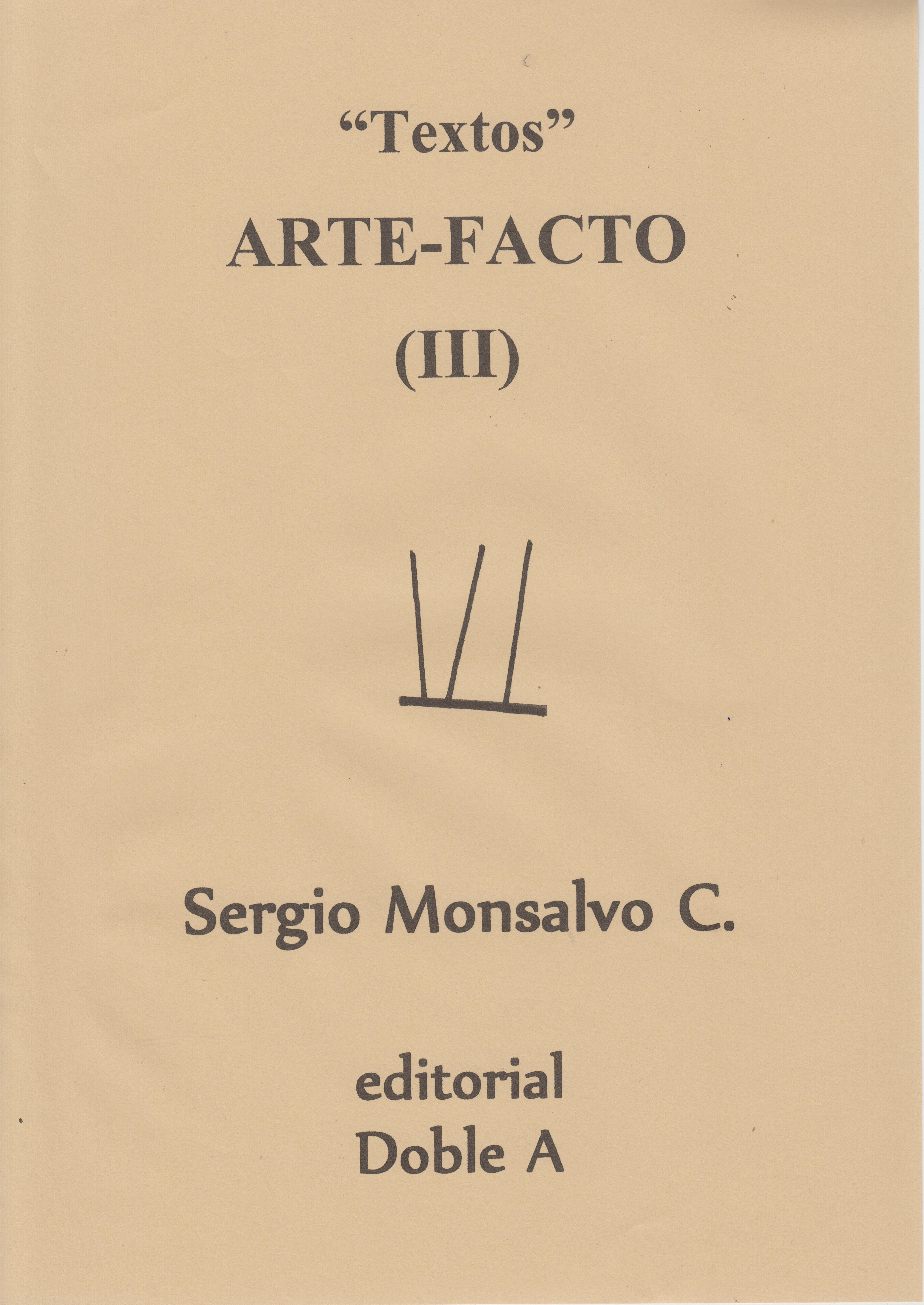 ARTE-FACTO III (PORTADA)