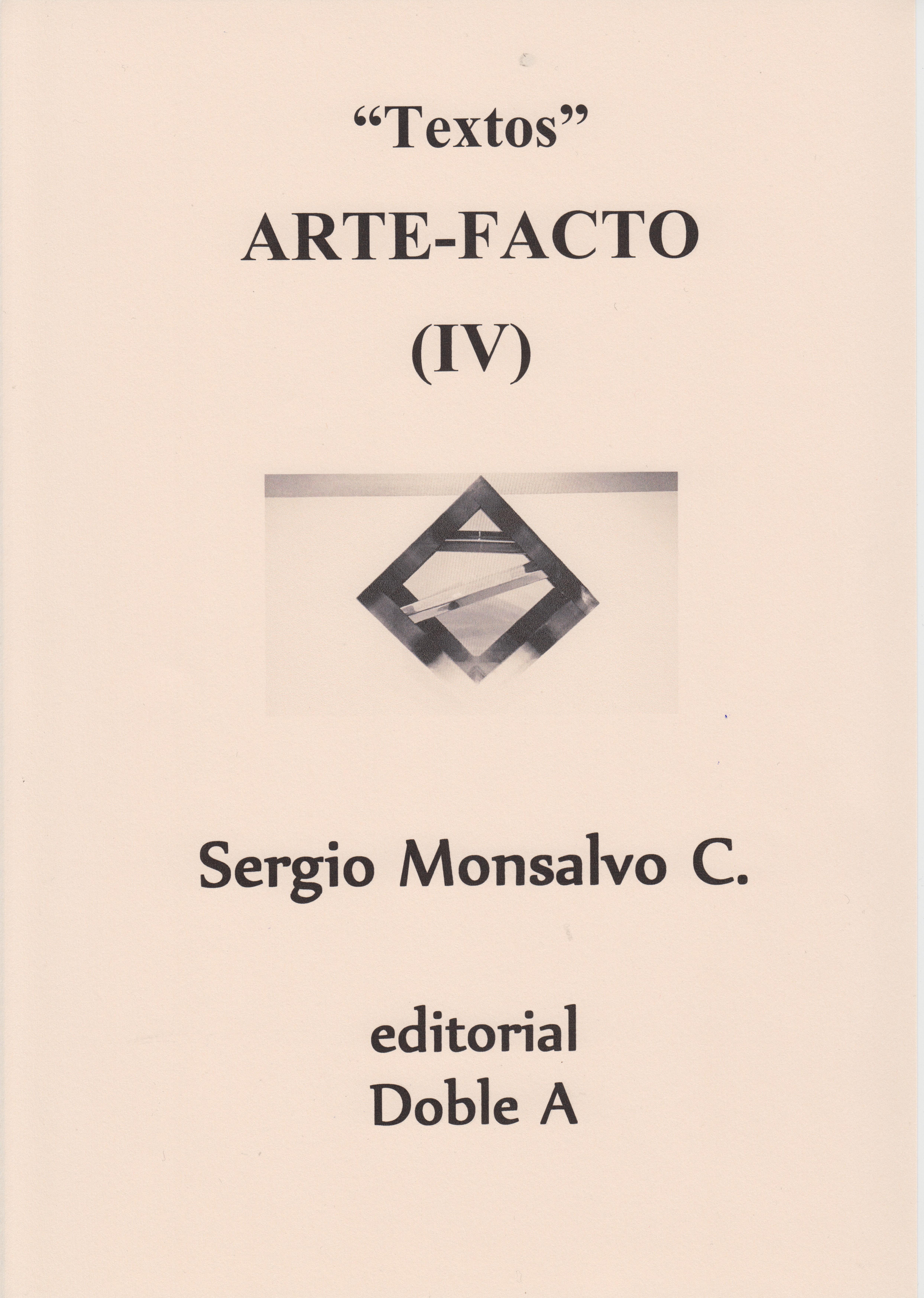 Arte-Facto IV Portada