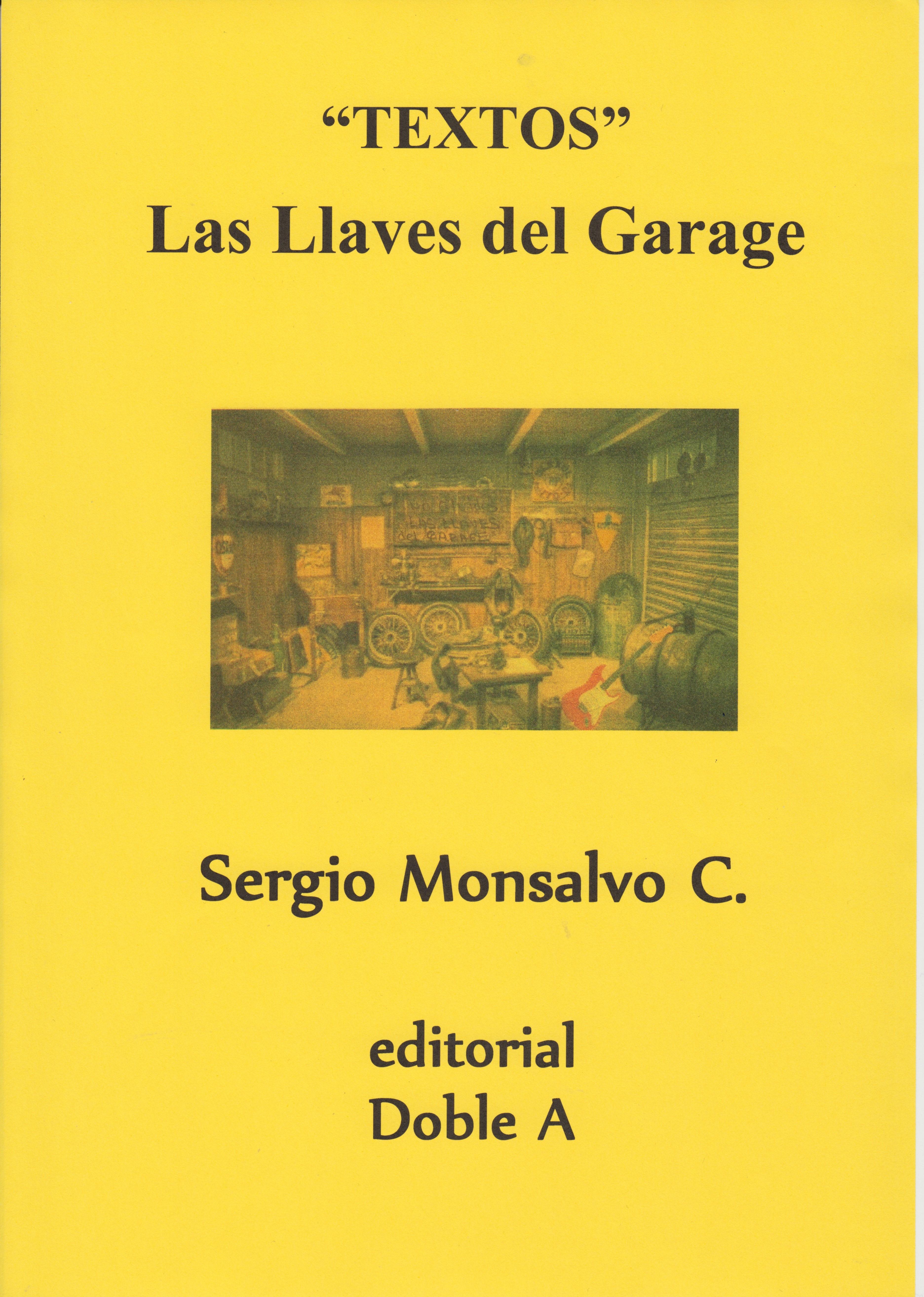 LAS LLAVES DEL GARAGE (PORTADA)