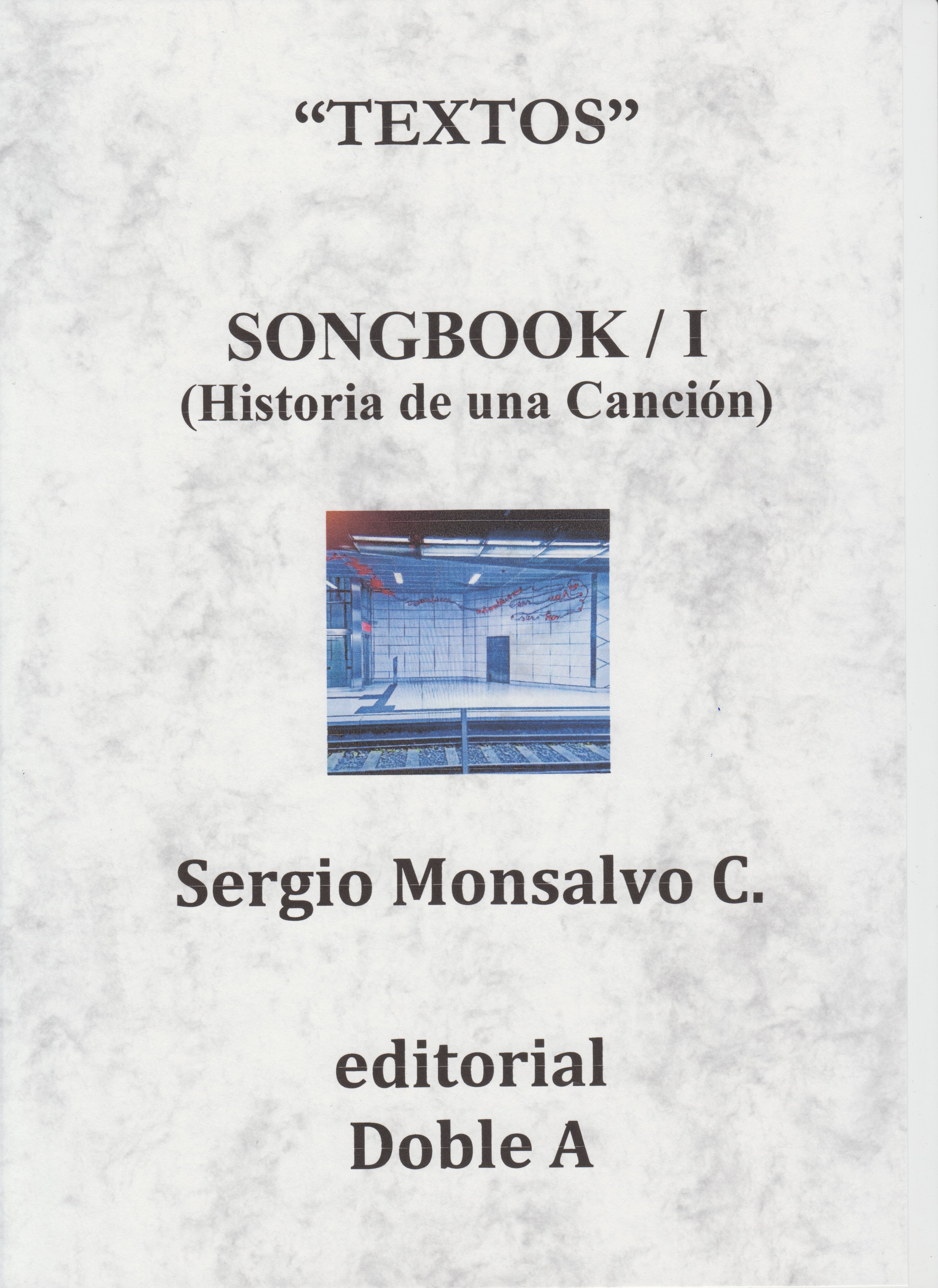 SONGBOOK I (PORTADA)
