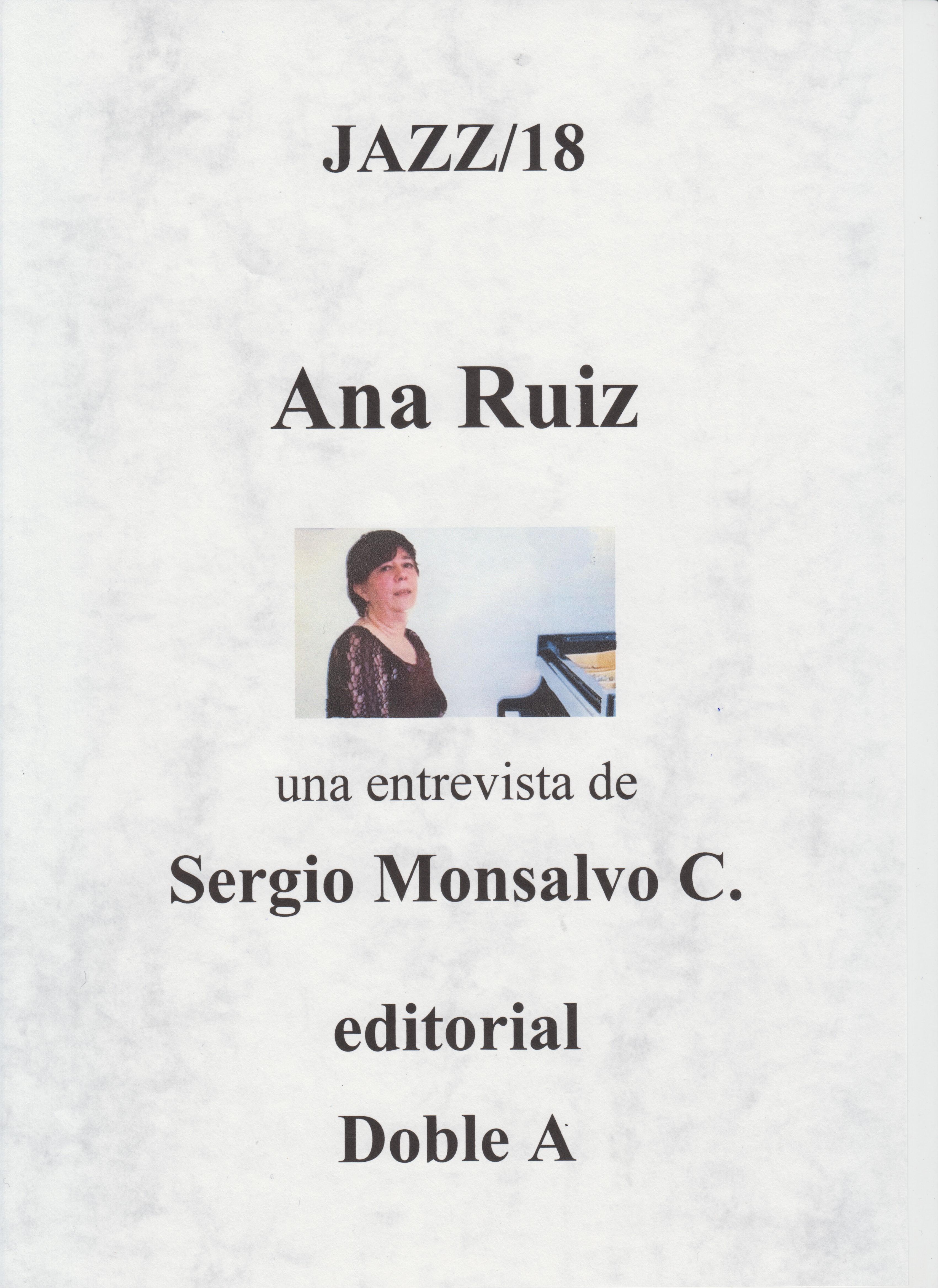 Ana Ruiz (Portada 2)