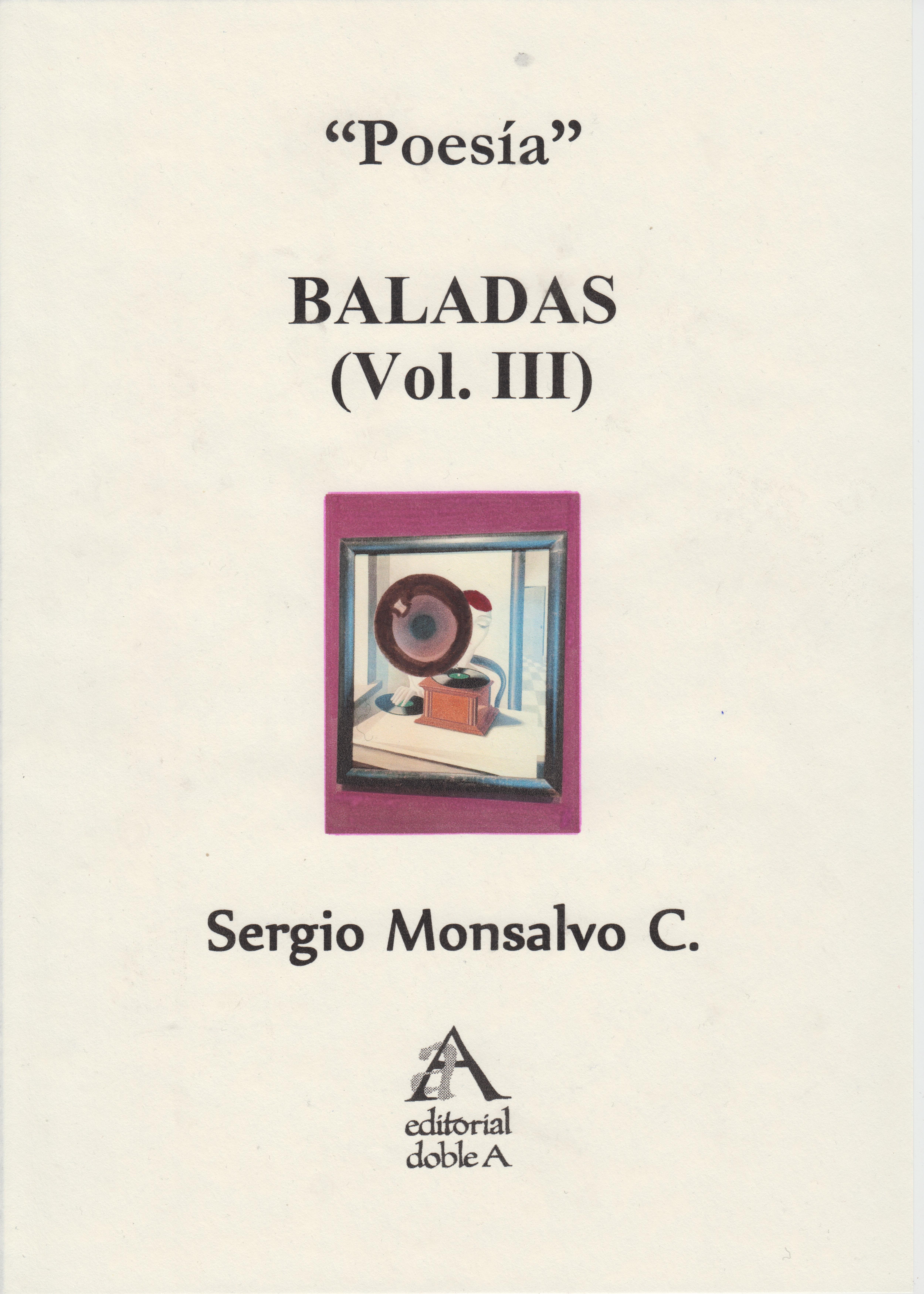 BALADAS VOL. III (PORTADA 2)