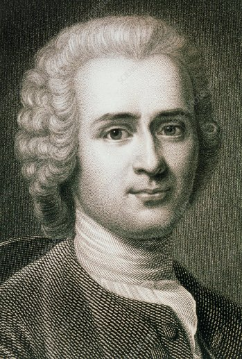 Jean Jacques Rousseau, French philosopher