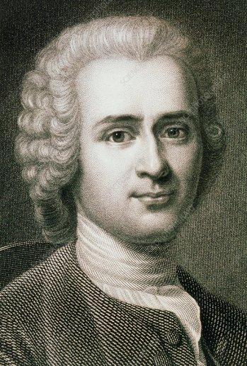 Jean Jacques Rousseau, French philosopher