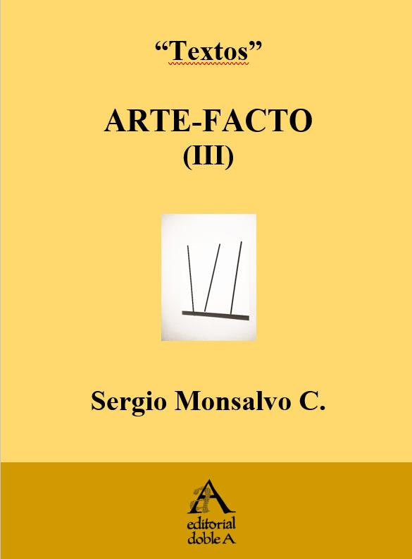 ARTE-FACTO (III) (PORTADA)