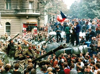 Tschechien Invasion Jahrestag